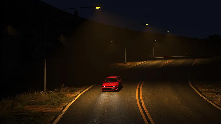 City lights gta5 addon