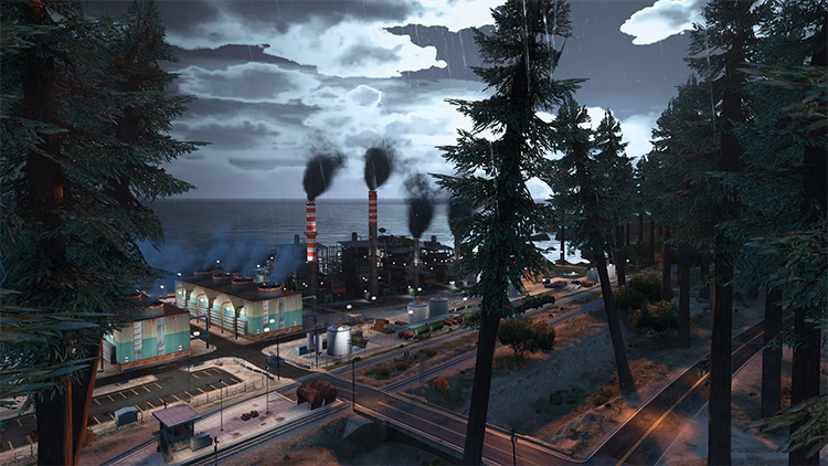 Forests in San Andreas gta5 mod
