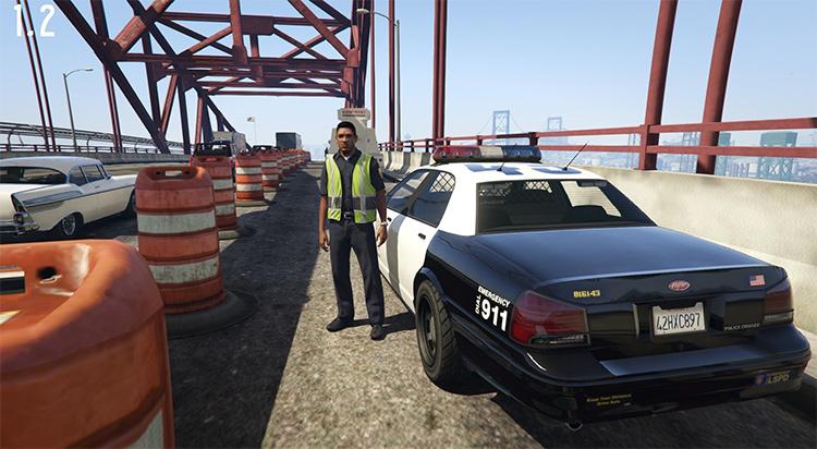 Roadwork mod for GTA 5