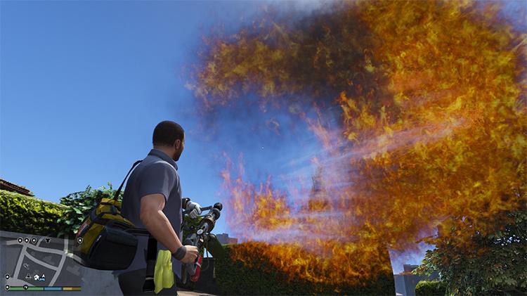 Real Flamethrower GTA5