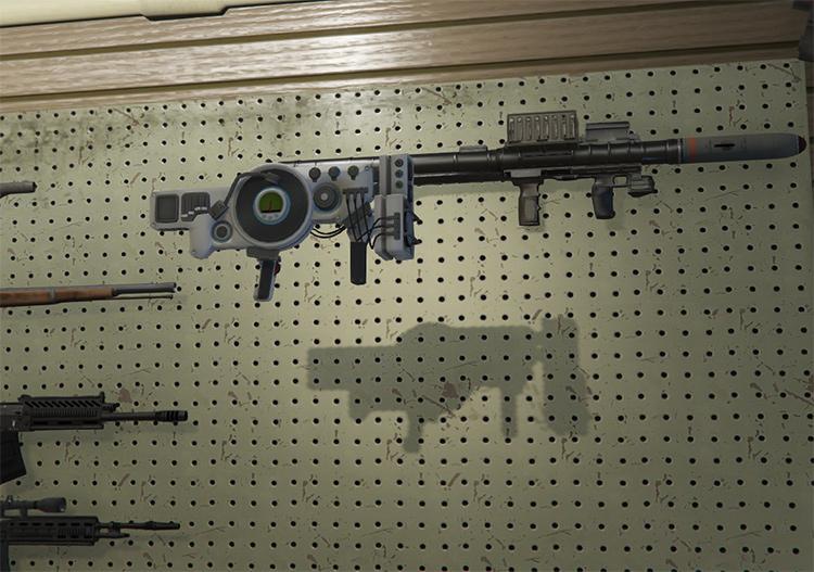 Dubstep Gun Saintsrow in GTA5