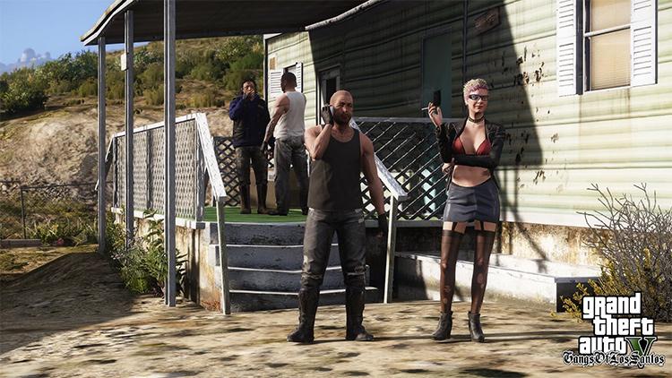 Gangs of Los Santos GTA5