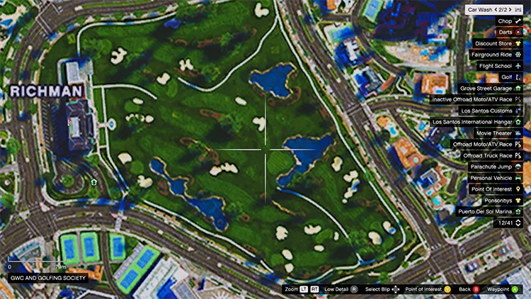 4K Satellite Viewmap GTA5