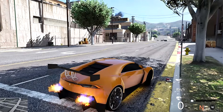 Realistic Driving in GTA 5, best car mod