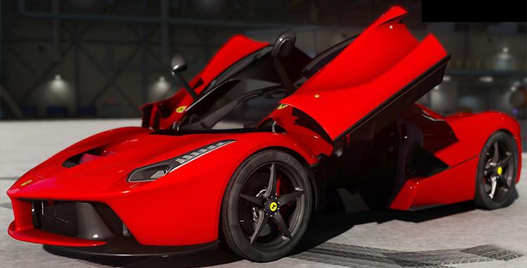 Ferrari LaFerrari GTA5 mod