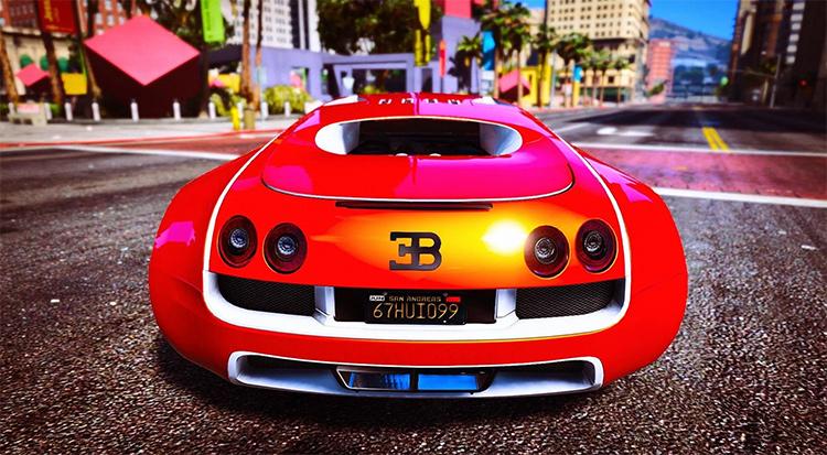 Bugatti Veyron GTA5 mod