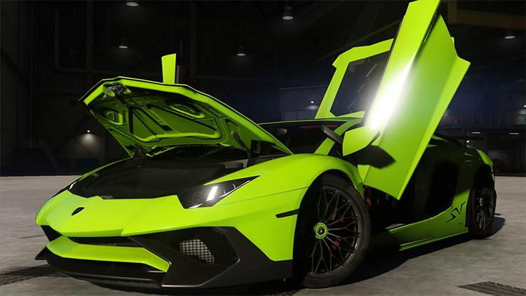 Lamborghini Aventador LP7004 mod