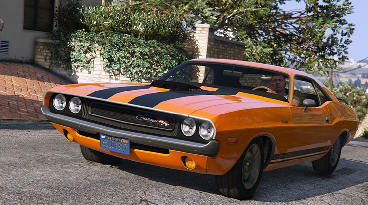 1970 Dodge Challenger RT 440 GTA5 mod