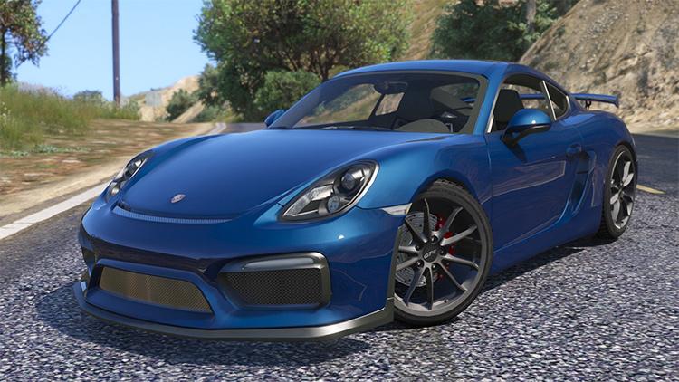 Porsche Cayman GT4 2016 GTA5 mod