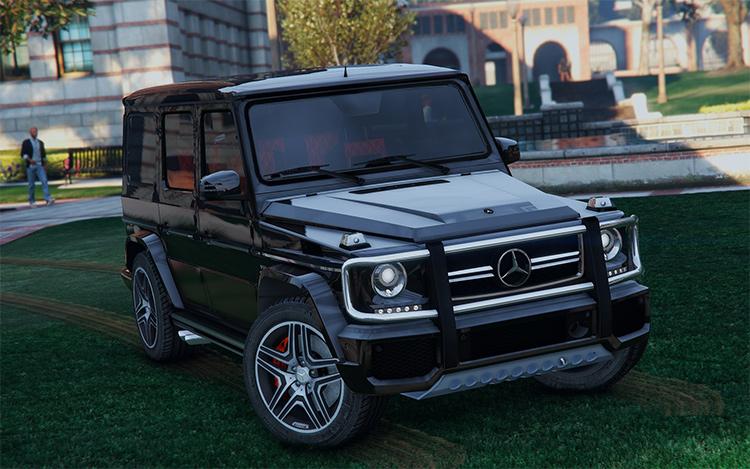 Mercedes Benz G65 gta5 mod