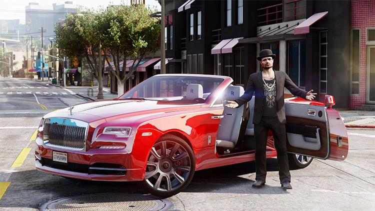 Rolls Royce Dawn gta5 mod