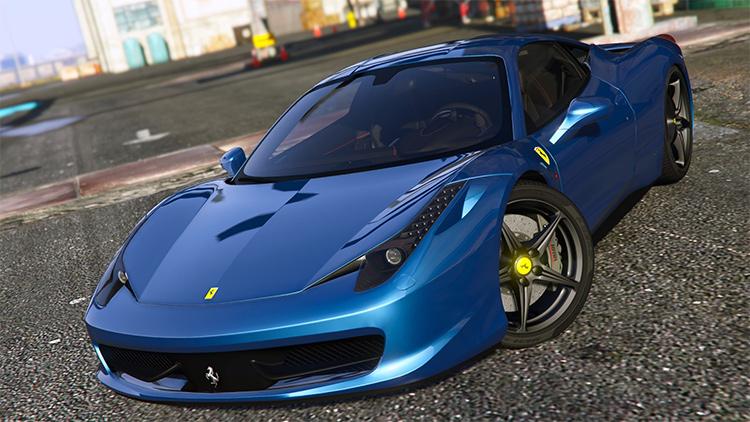Ferrari 458 Italia gta5 mod