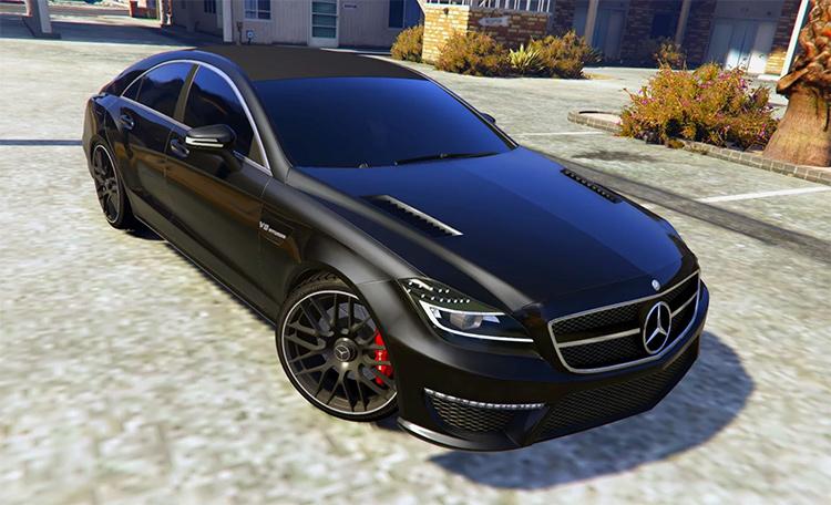 Mercedes Benz CLS GTA5 mod