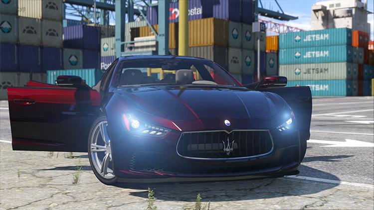 Maserati Ghibli S gta5 mod
