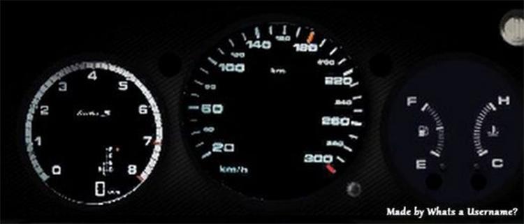 Porsche Gauges gta5 mod