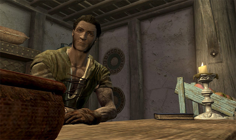 Belethor, most useless character in Skyrim