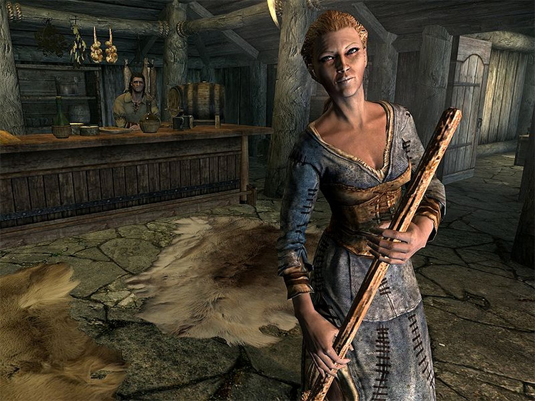 Delphine in Skyrim