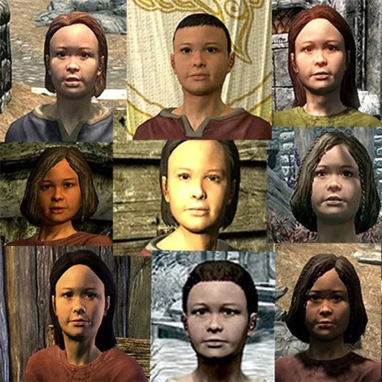 Children in Skyrim