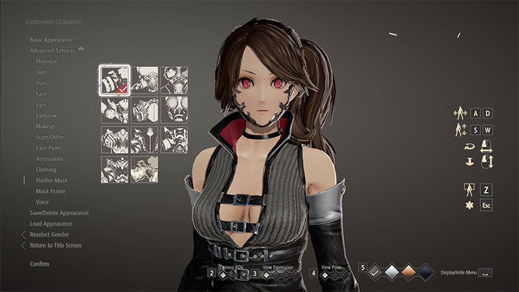 Invisible Mask mod