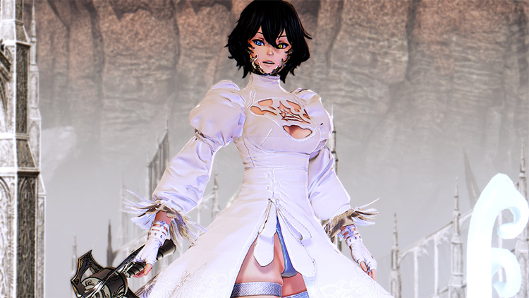 Colorable 2B Outfit mod