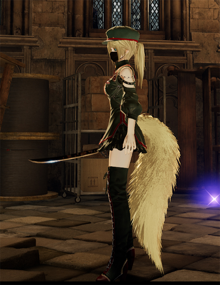 Fluffy Tails Accessory mod