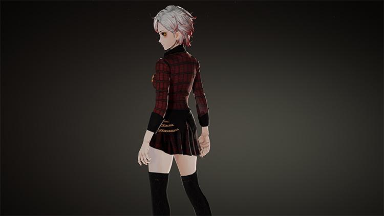 Playable School Uniform mod