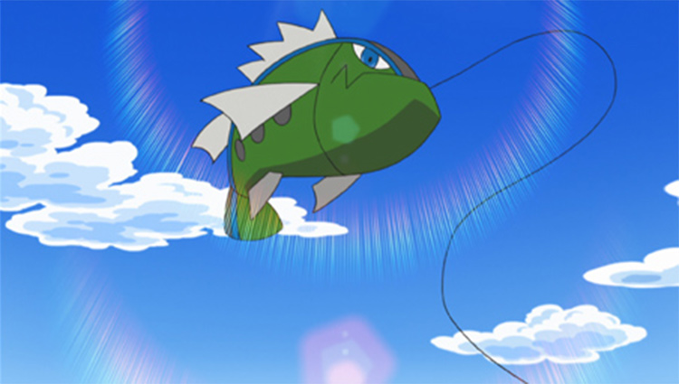 Basculin fish in the anime
