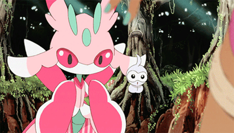 Lurantis in the anime