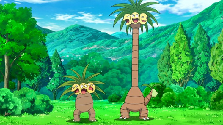 Alolan Exeggutor in the anime