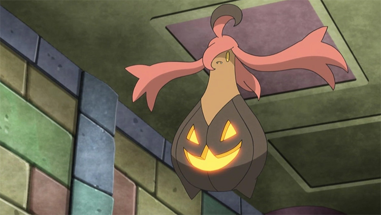 Gourgeist in the Pokemon anime