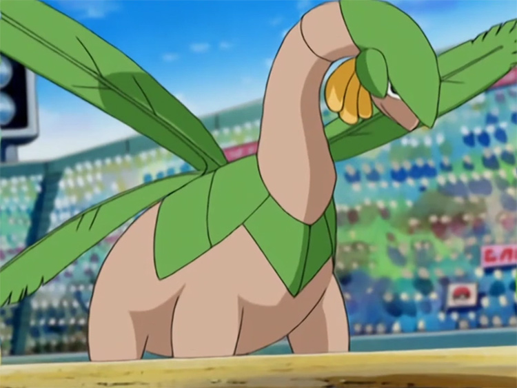 Tropius Pokemon in the anime