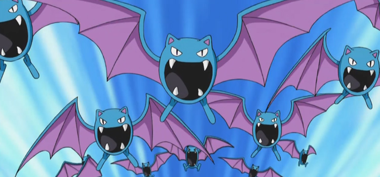 10 Best Bat-like Pokémon In The Franchise (Ranked)