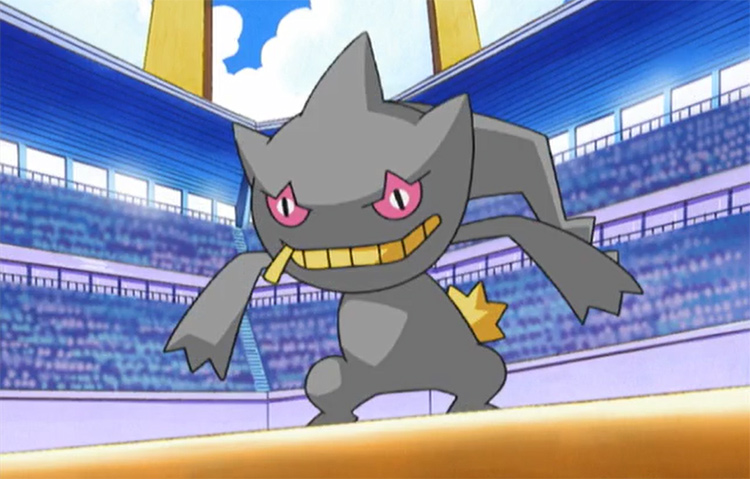 Banette legendary ghost from the anime