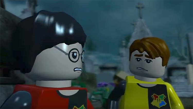 Lego Harry Potter: Years 5-7 video game screenshot