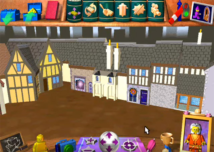 LEGO Creator HarryPotter game