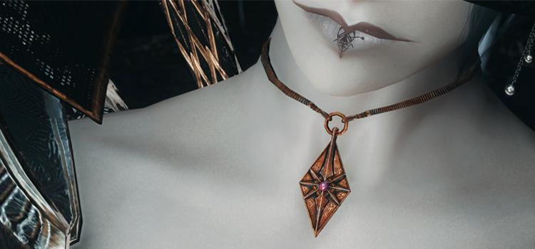 Skyrim custom amulet