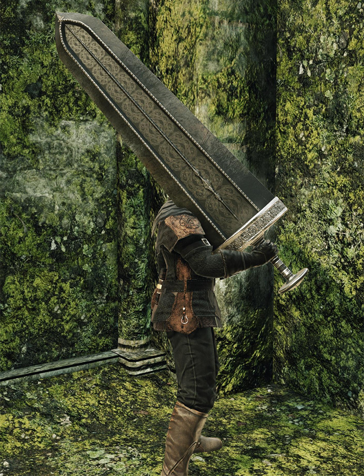 Crypt Blacksword from Dark Souls 2