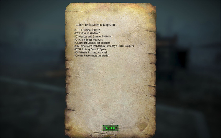 Collector's Guides FA4 mod
