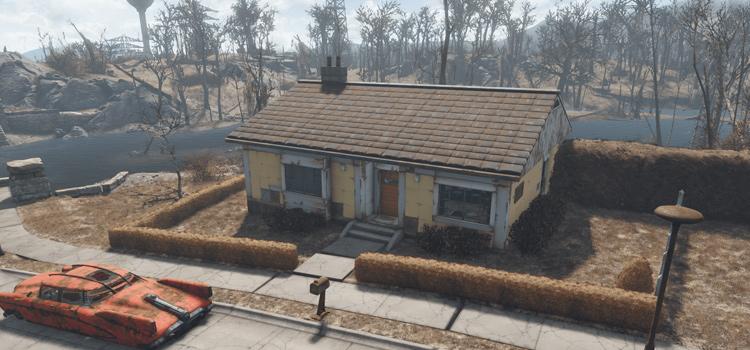 Fallout4 custom home mod