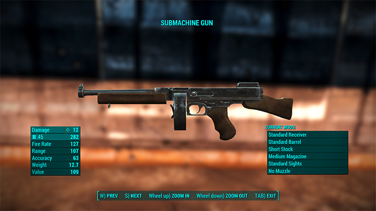 Weapon Balance Overhaul FO4