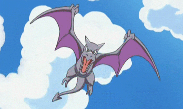 Aerodactyl in Pokemon anime