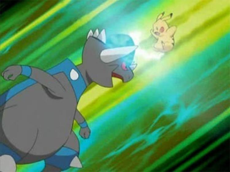 Rampardos in Pokemon anime
