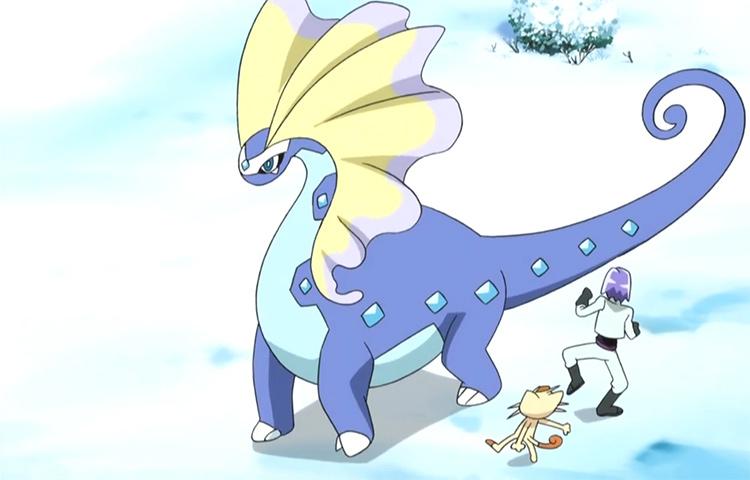 Aurorus anime screenshot