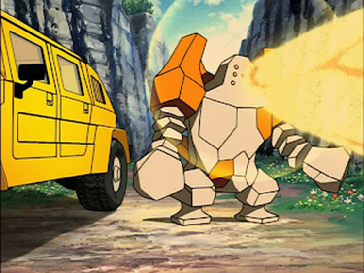 Regirock anime screenshot
