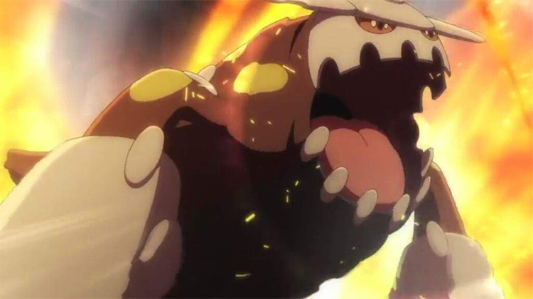 Heatran Pokemon anime