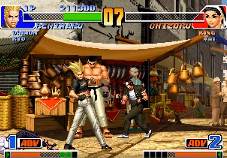 KoF 98 screenshot