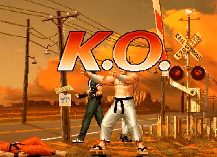 KoF 96 screenshot