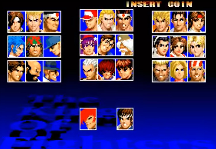 KoF 97 screenshot