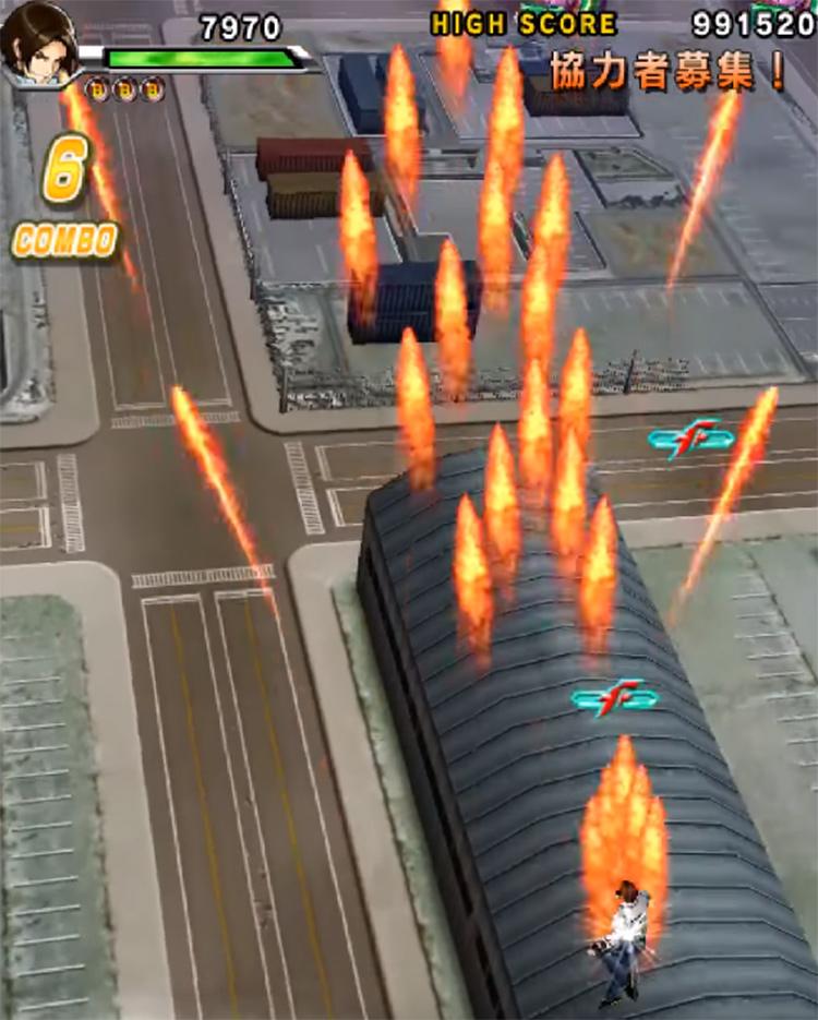 KoF Sky Stage screenshot