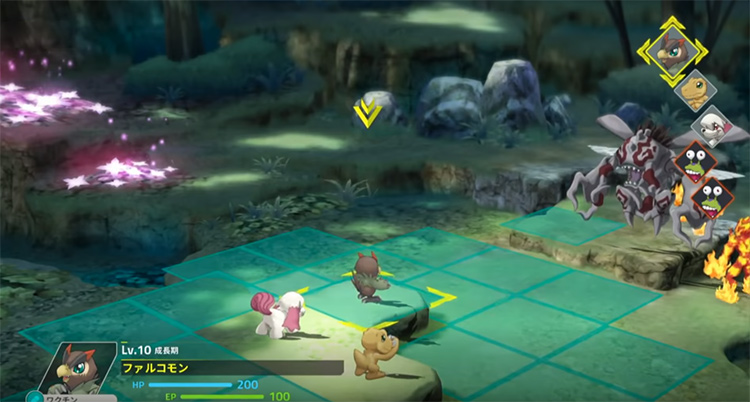 Digimon Survive new Digimon gameplay